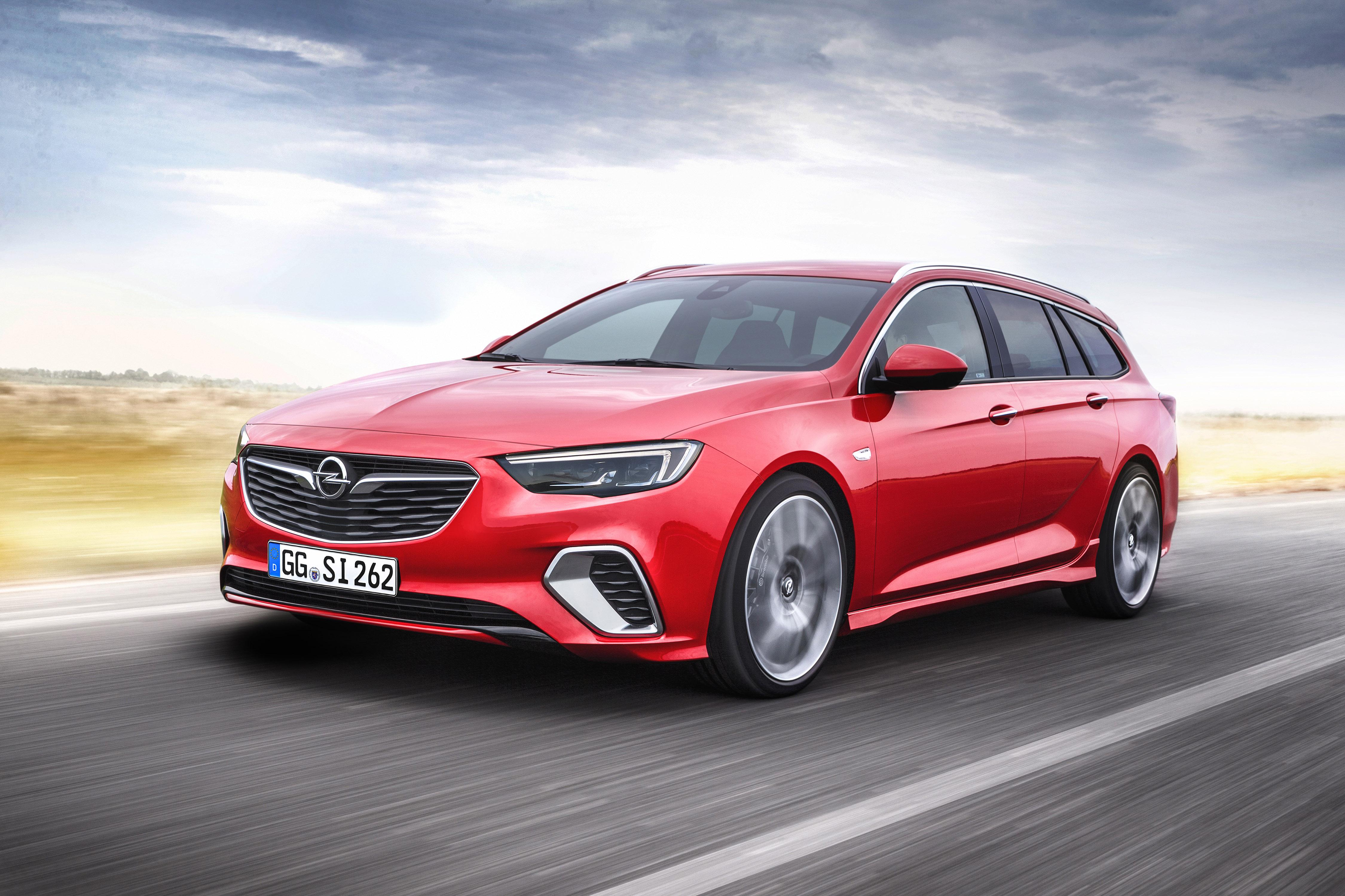 Dynamisch en krachtig: de Opel Insignia GSi Sports Tourer