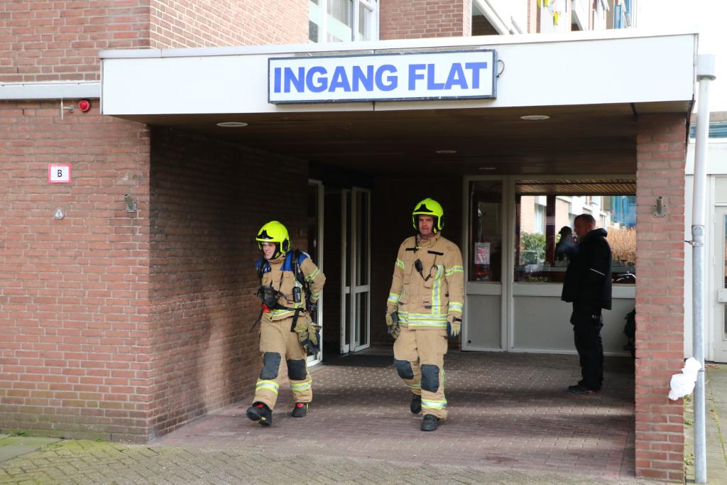 Brandweer uitgerukt voor aangebrande pan