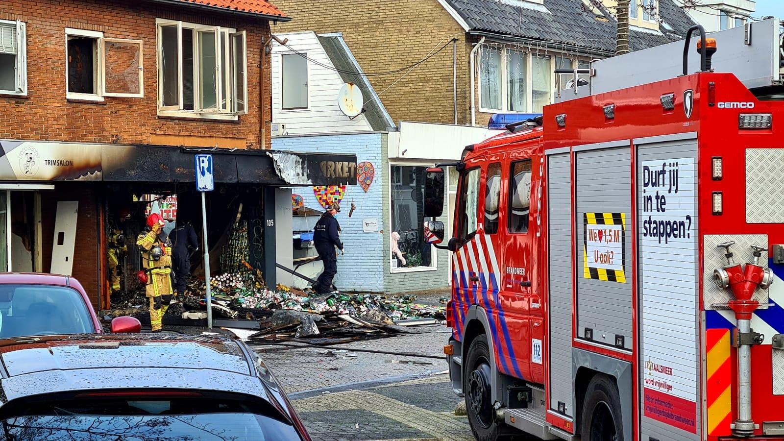 Forse schade na explosie in Aalsmeer
