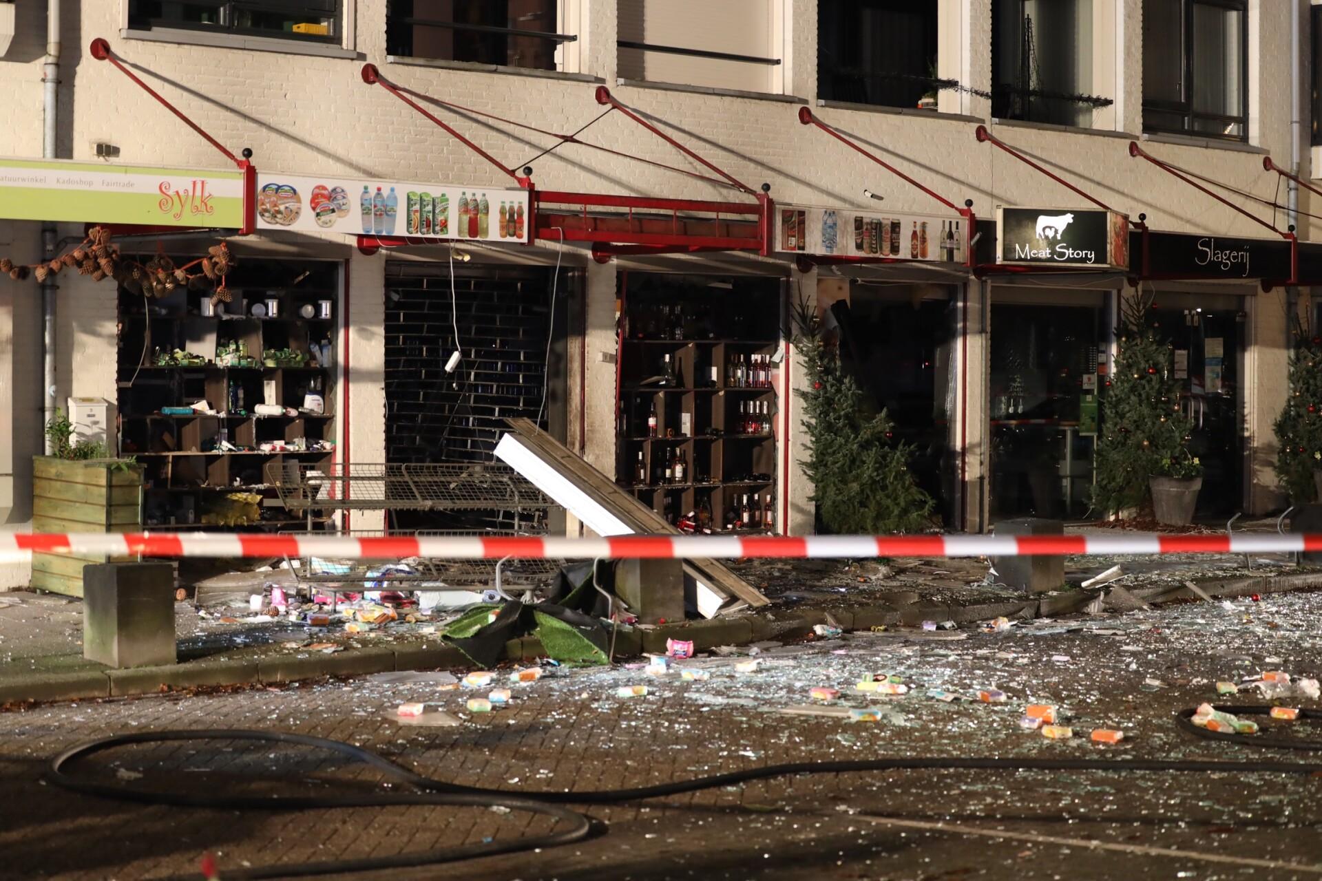 Explosie richtte enorme schade aan
