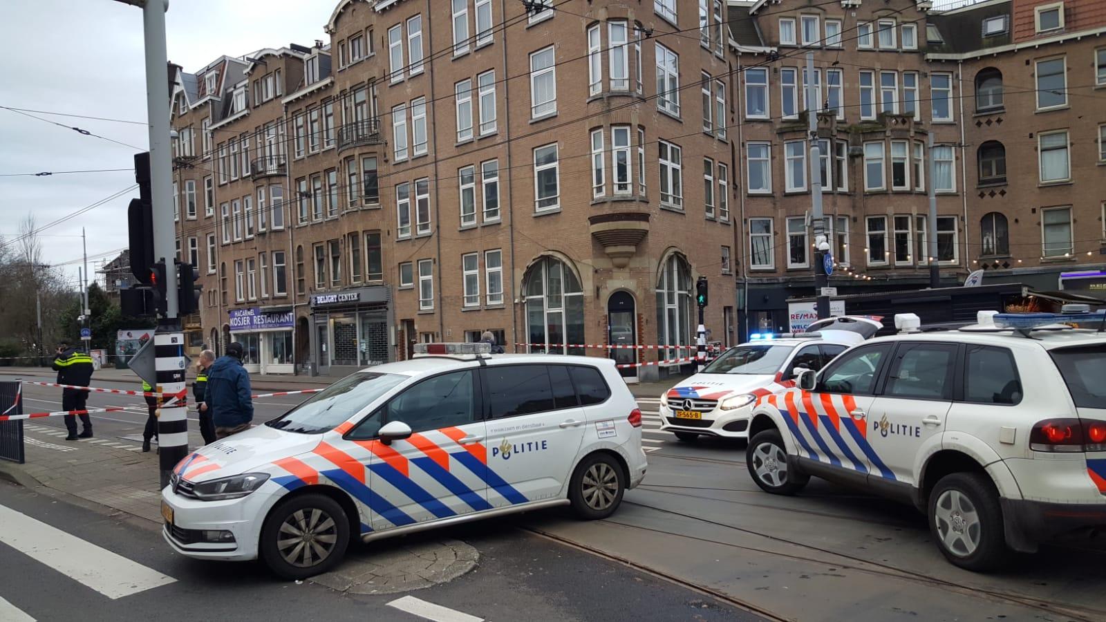 Politie heeft Amstelveenseweg afgesloten