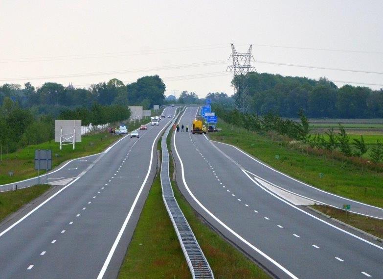 Foto van ongeval op N33
