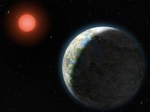 Foto van zon en aarde | Archief FBF.nl