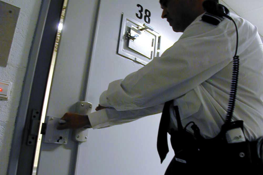 Foto van gevangenis   Archief EHF