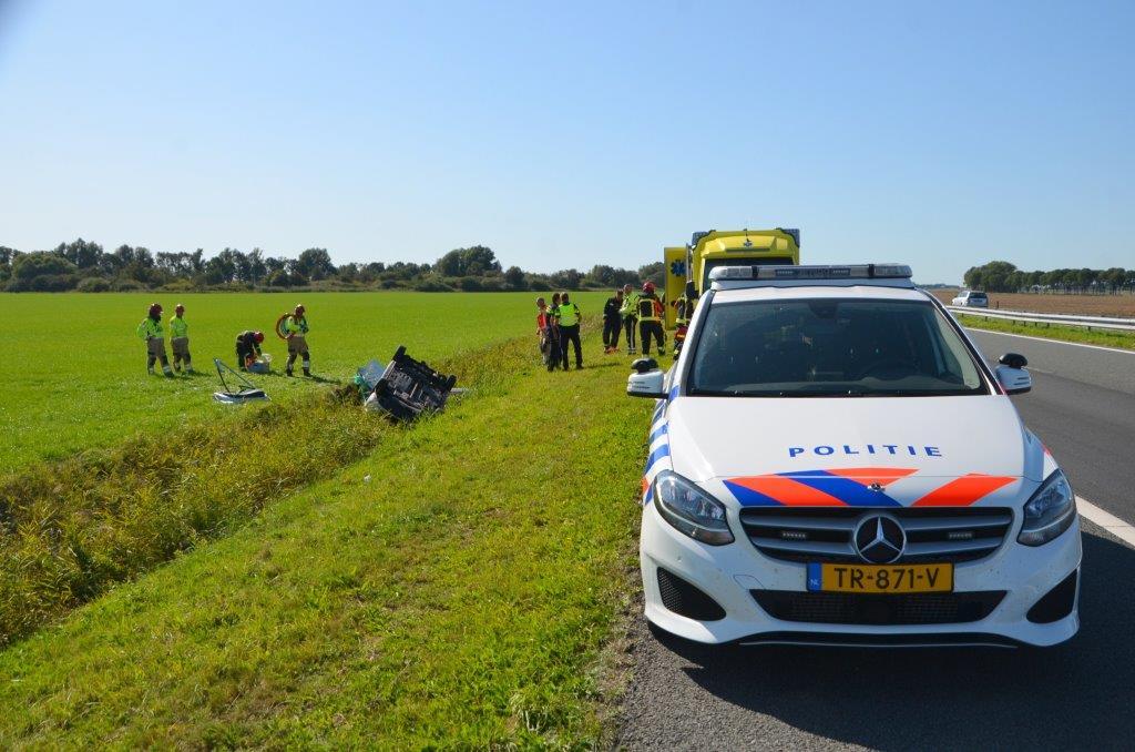 Ongeval op de a7
