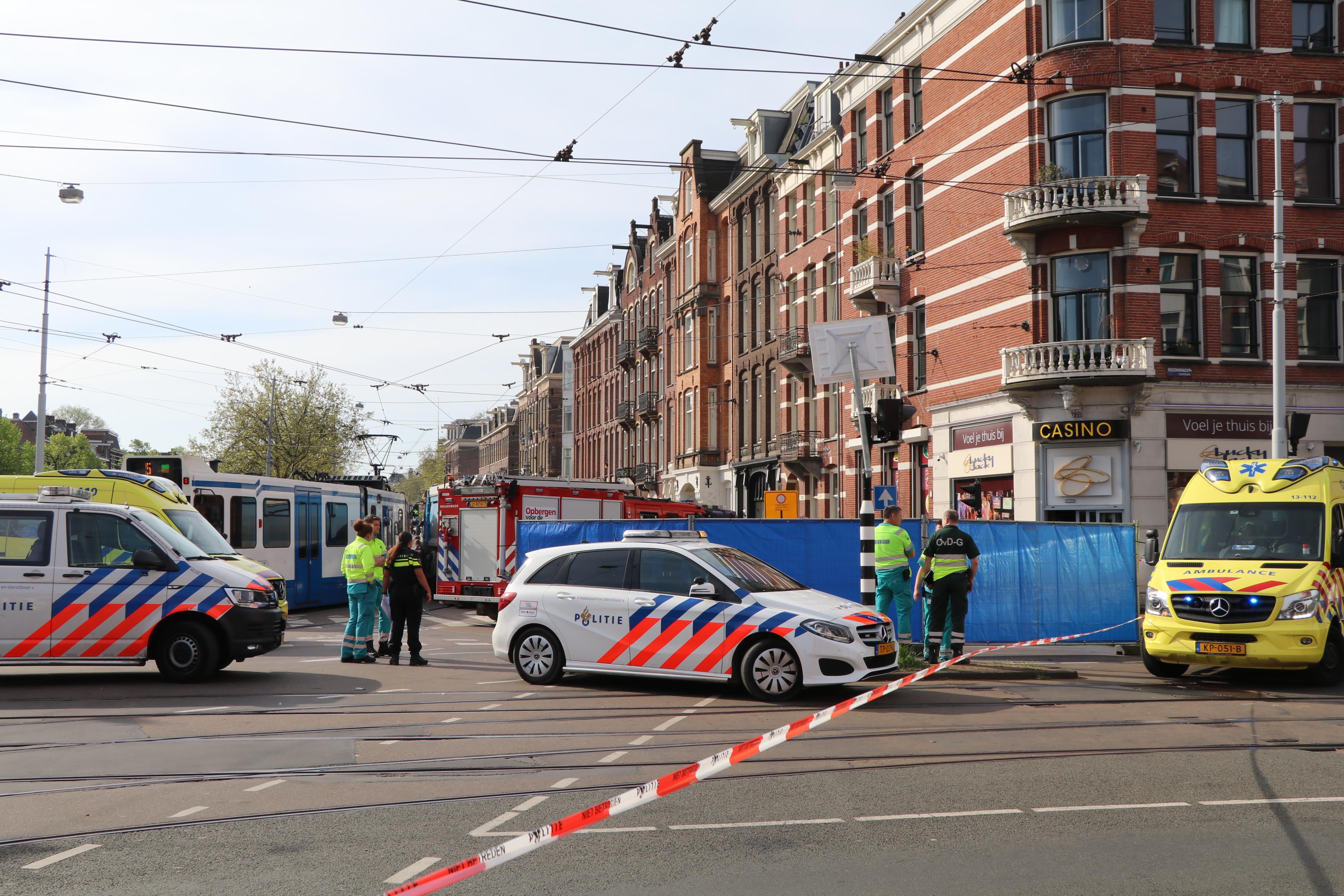 Foto van aanrijding Amsterdam