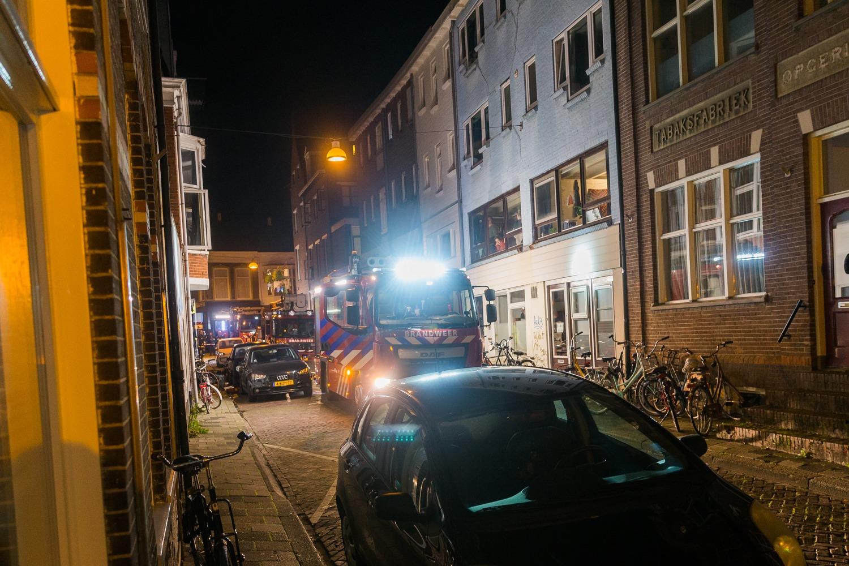 Brandweer aanwezig in Raamstraat