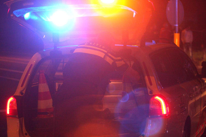 Motorrijder (45) omgekomen, passagier gewond bij verkeersongeval