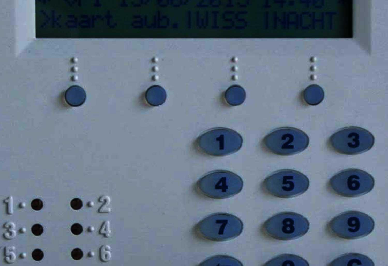 alarm-toetsenbord
