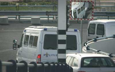 Politie staakt arrestantentransport rechtbanken