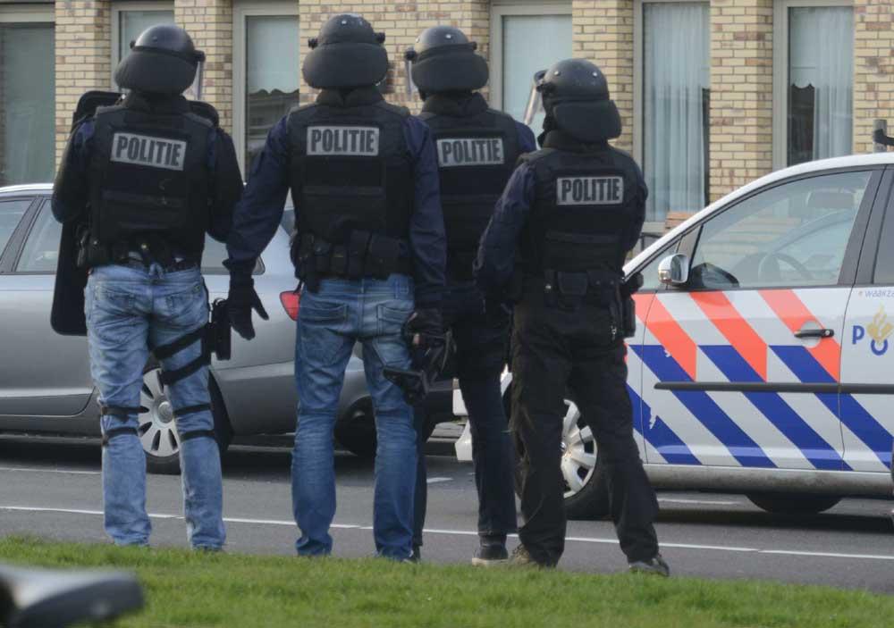 Foto van arrestatieteam | Archief Aneo Koning | www.fotokoning.nl
