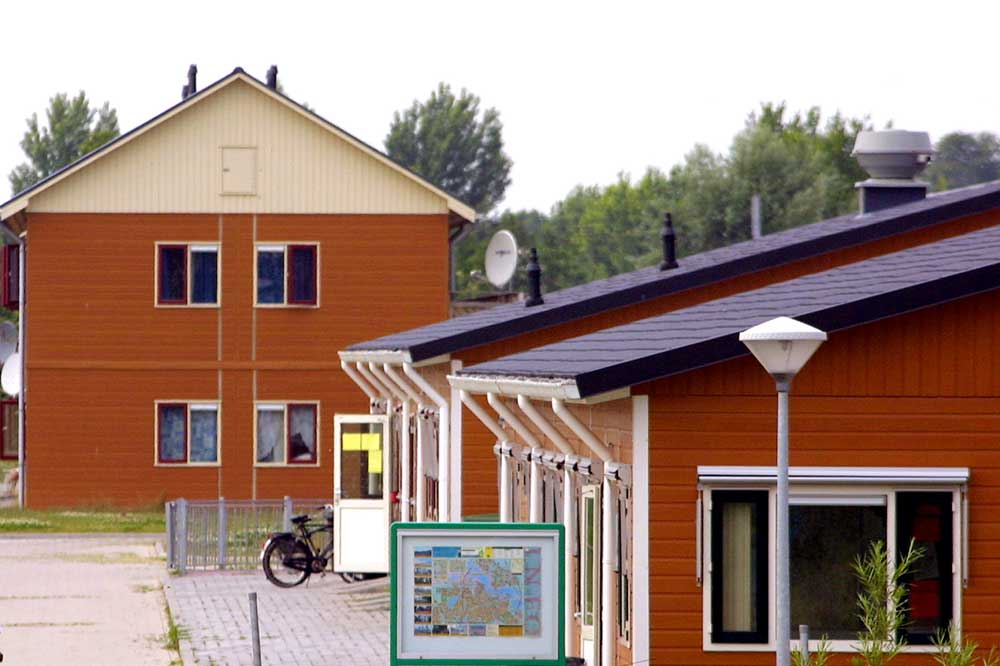 Foto van asielzoekerscentrum AZC | Archief EHF