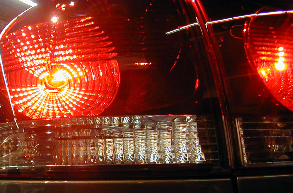 Foto van achterlicht van auto   Archief EHF