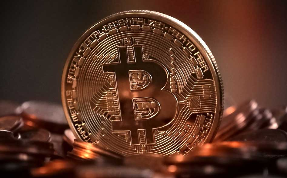 Foto van Bitcoin