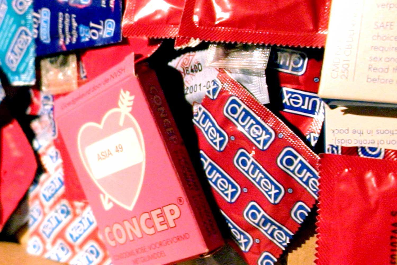 condoom, durex, aids,