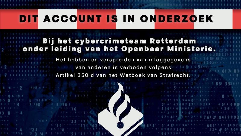 Cyber banner politie