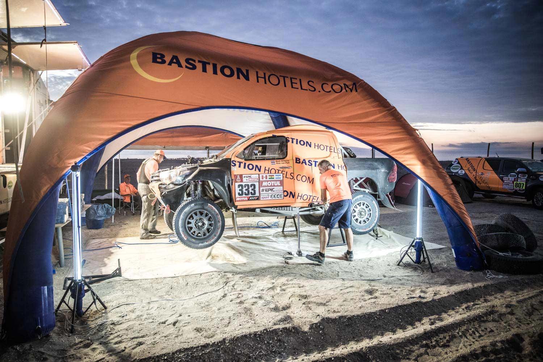 Willems verder in Dakar met 'lapjeskat'
