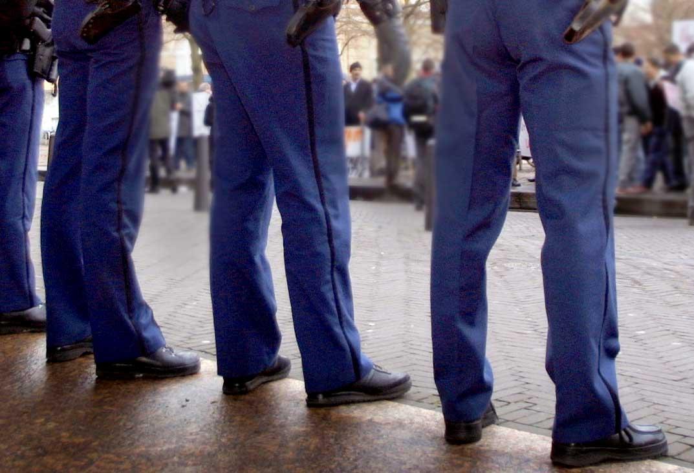 demonstratie-politie-Plein