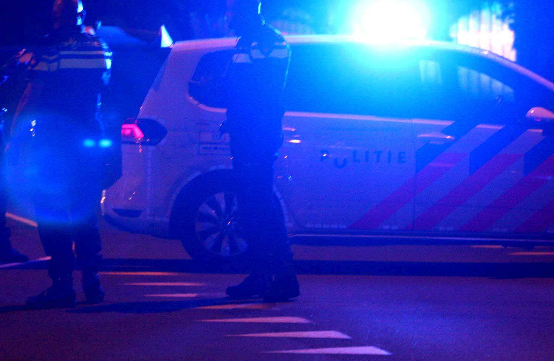 donker-zwaailicht-blauw-politie
