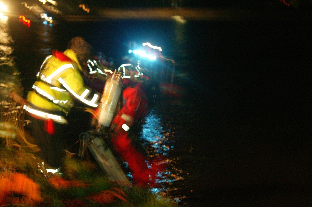 Man verdronken in de Maas