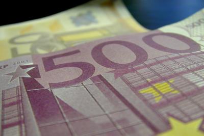 Foto van eurobiljetten geld | Archief EHF