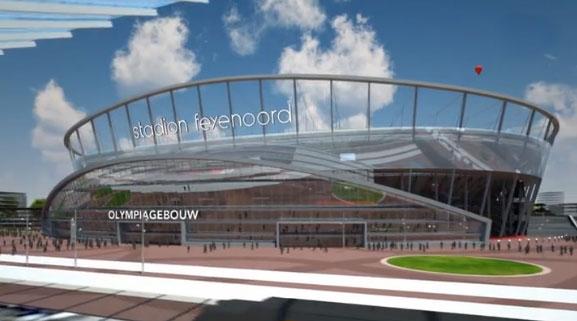 foto van Feyenoord stadion   BAM