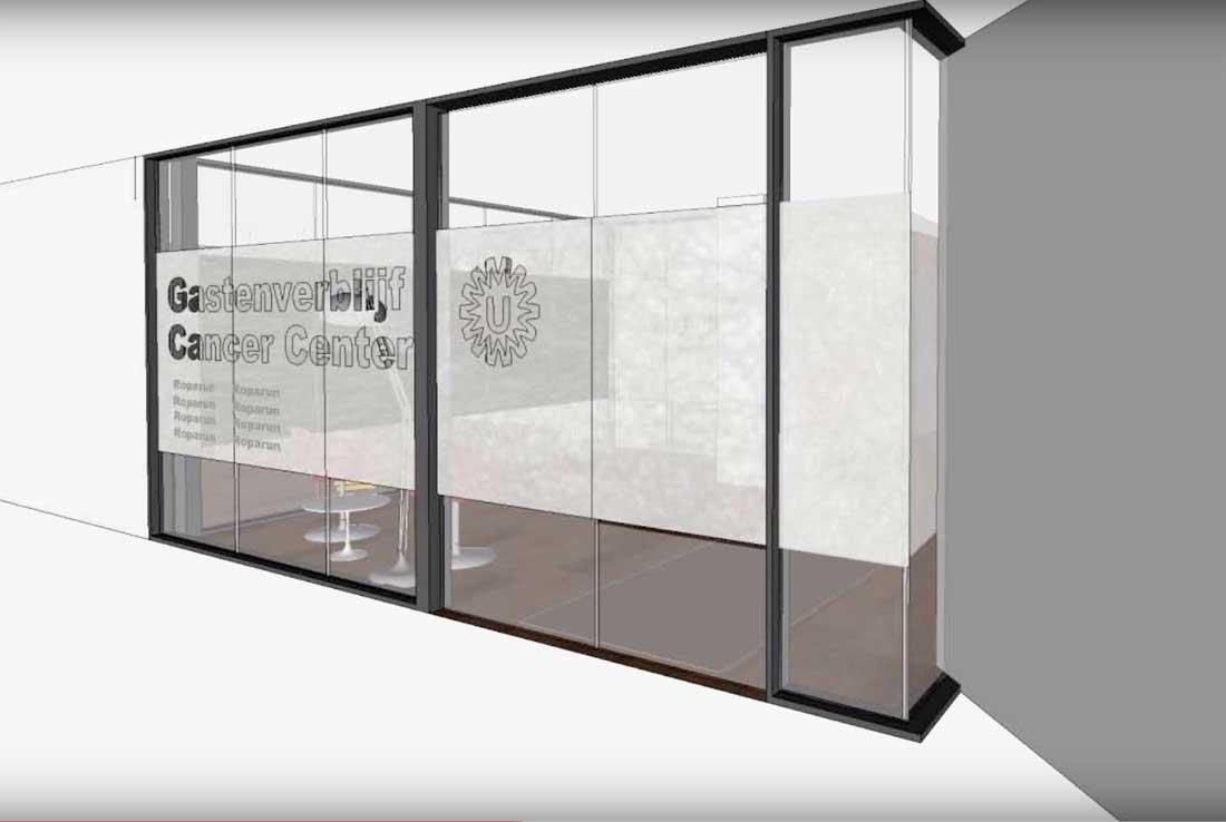 Gestart met bouw gastenverblijf UMC Utrecht Cancer Center