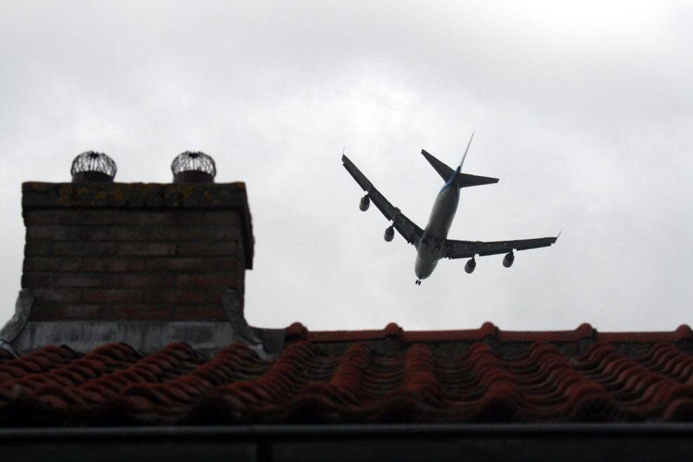 foto van geluidsoverlast Schiphol   fbf