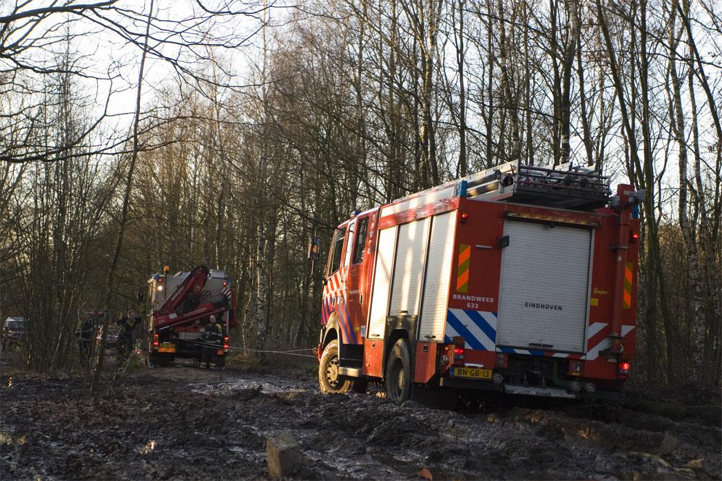 Foto van bosbrand | Archief FBF.nl