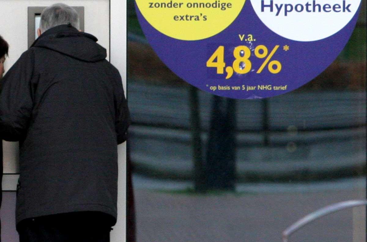 Hypotheekmarkt terug op het niveau van voor de crisis