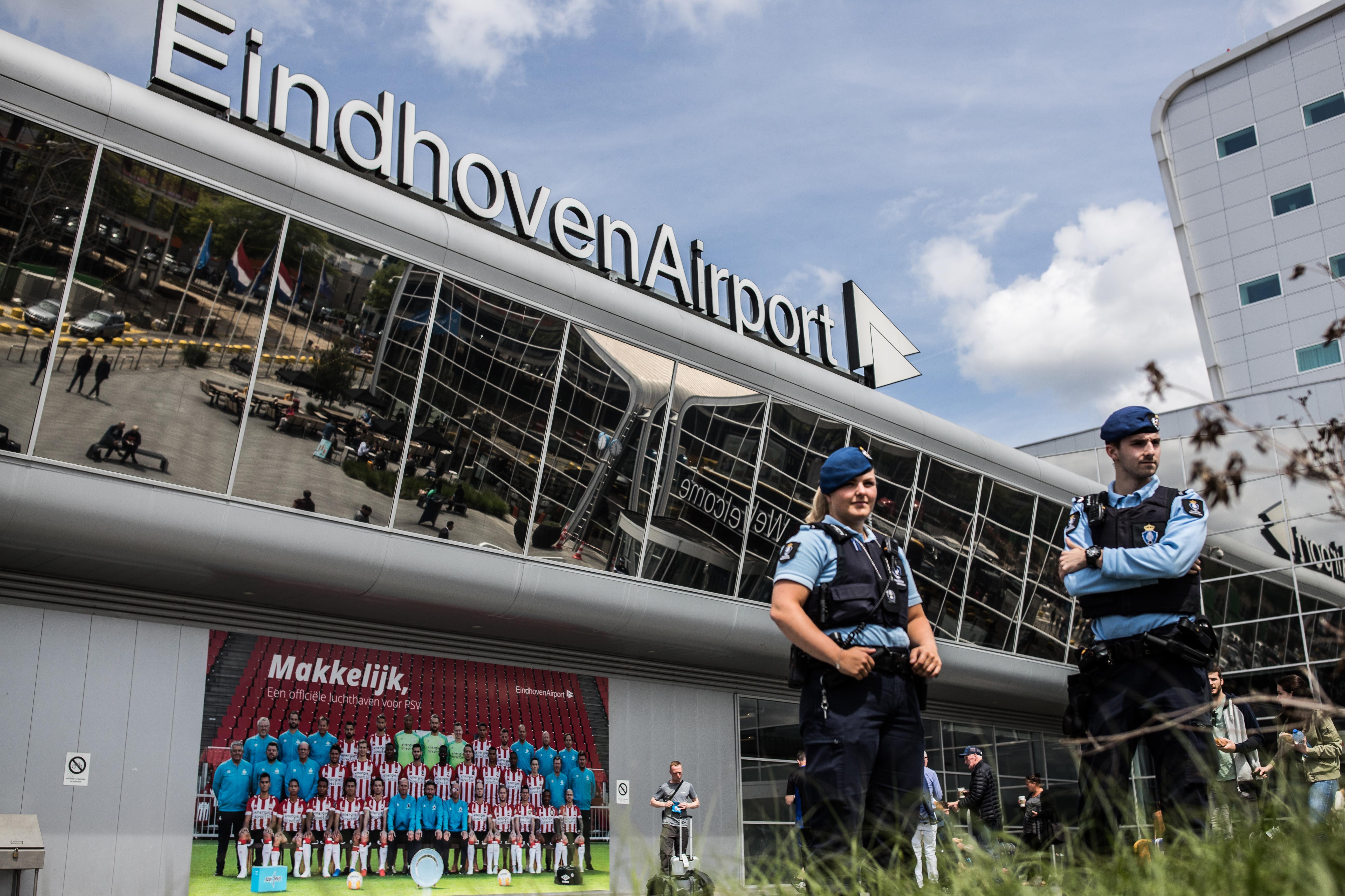 Marechaussees voor Eindhoven Airport