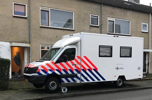 Onderzoek in woning Kometenstraat