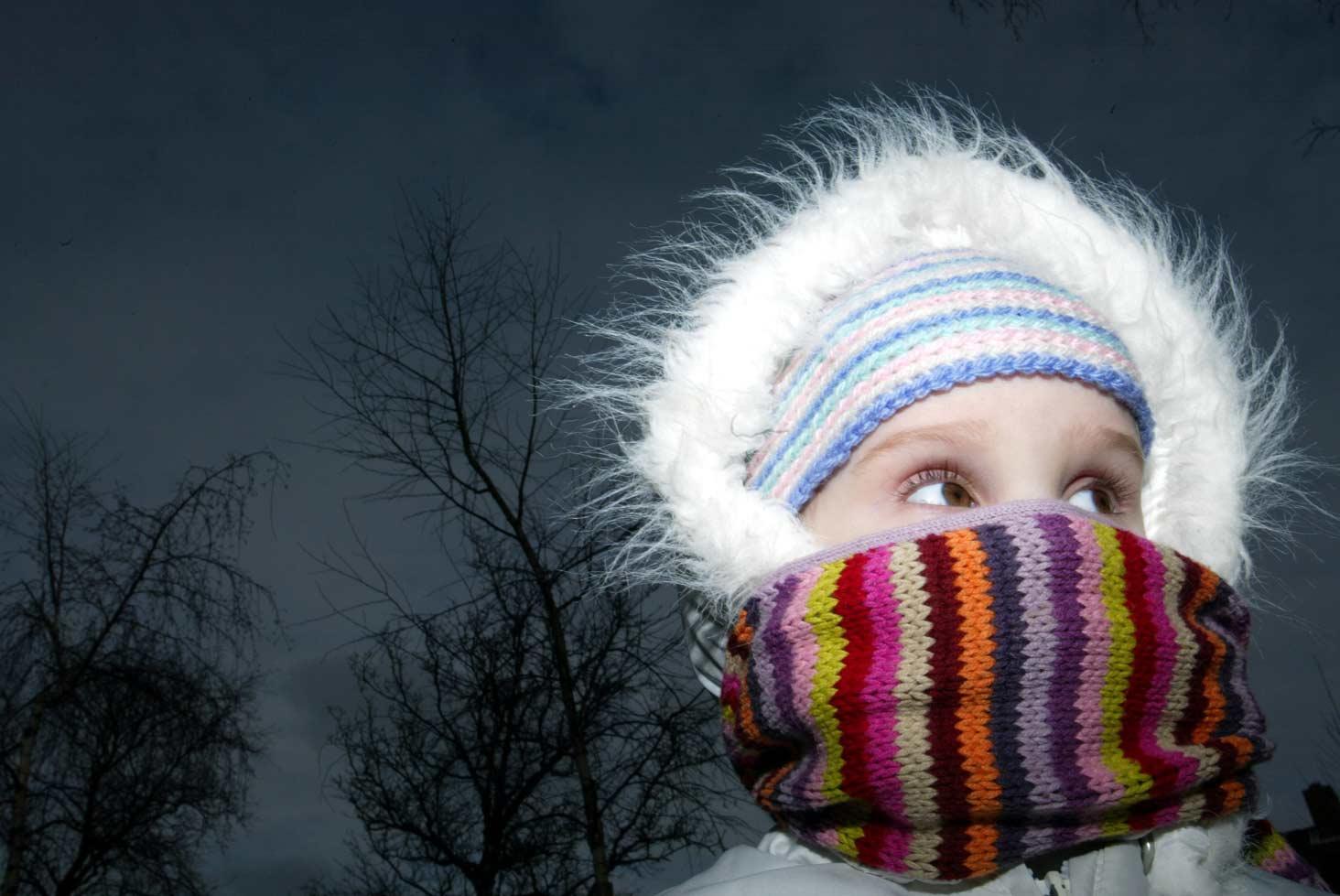 Warme winterkleding