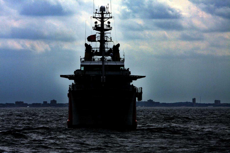 kustwacht-boot-donker