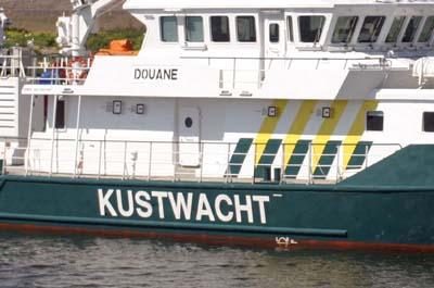 Foto van boot Kustwacht | Archief EHF