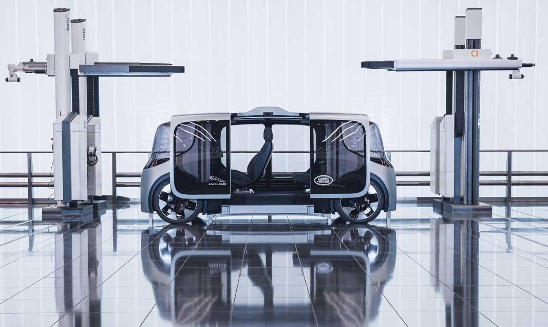 ''De nieuwe Land Rover Defender''