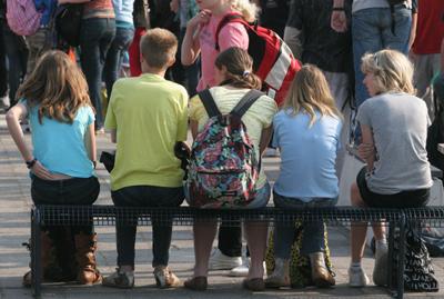 Foto van jongeren op school | Archief EHF