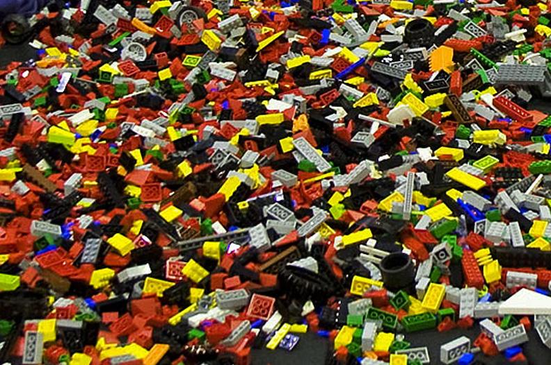 Foto van LEGO stenen speelgoed | Archief EHF