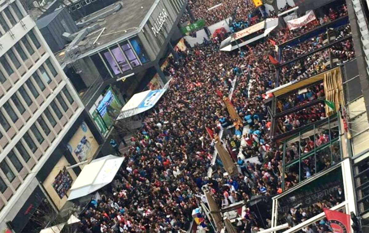 Ongeregeldheden na voetbalwedstrijd Rotterdam onderzocht