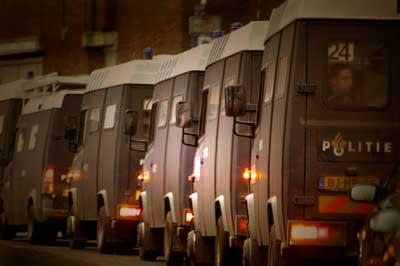 Foto van mobiele eenheid busjes | Archief EHF