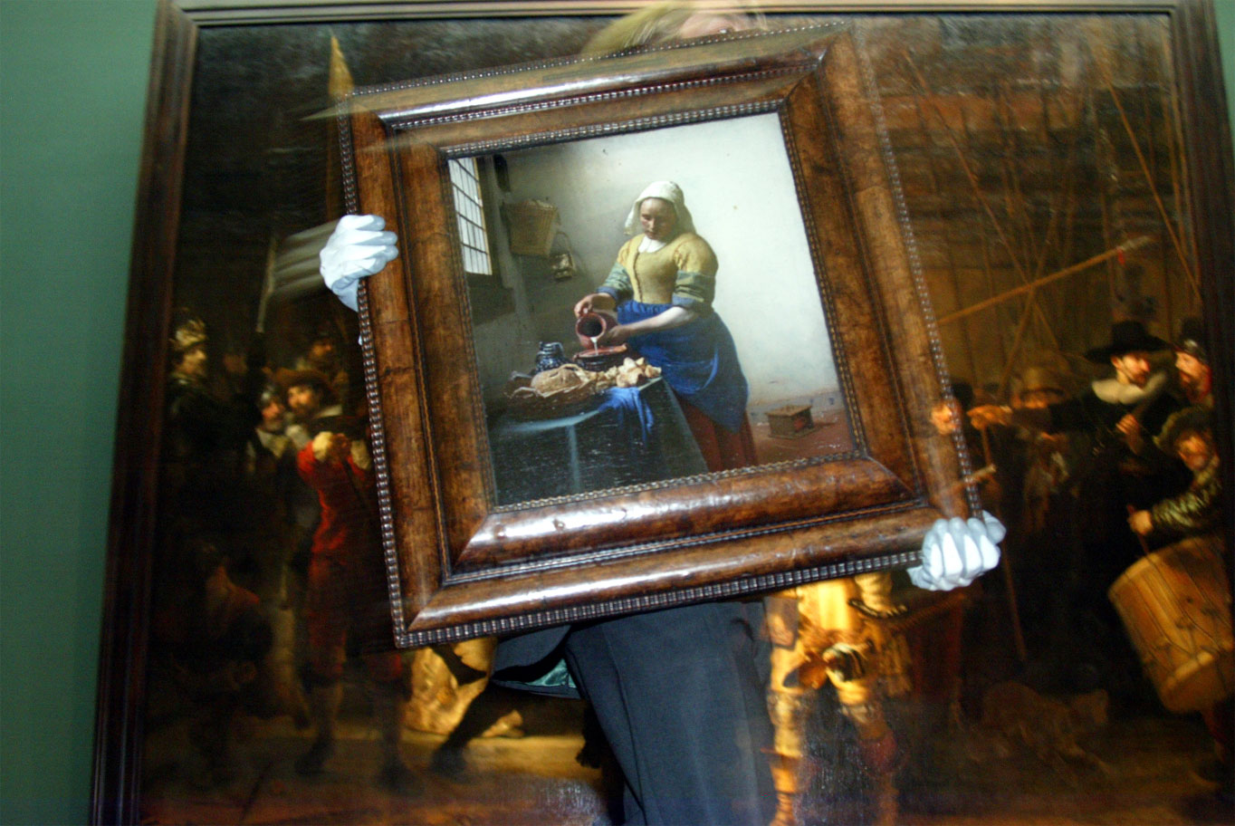 foto van pasage Rijksmuseum   fbf