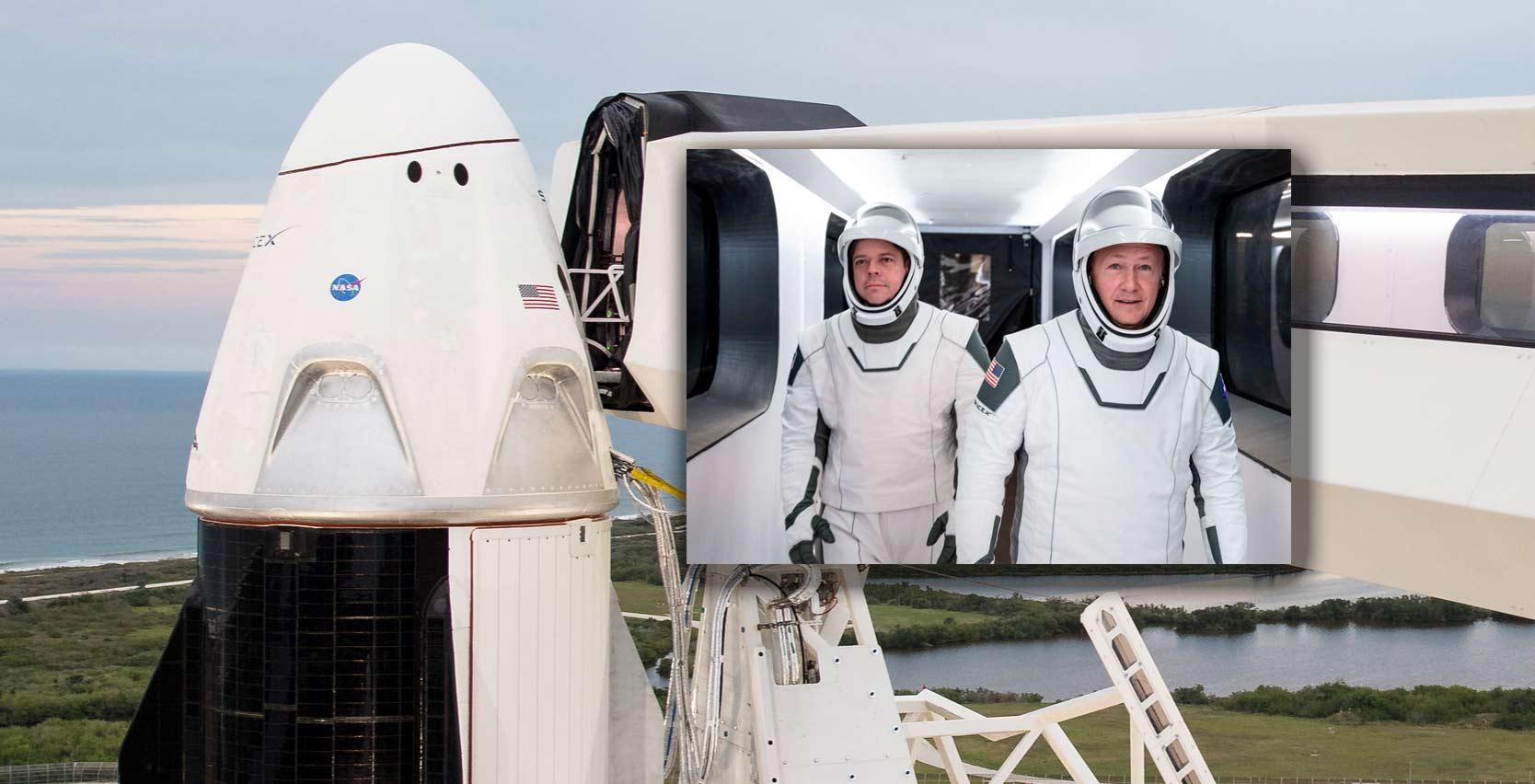 Lancering raket SpaceX afgeblazen