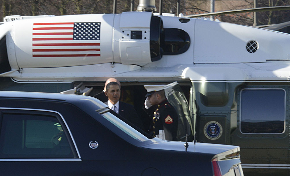 foto van Obama   Paul Groeneveld en anderen