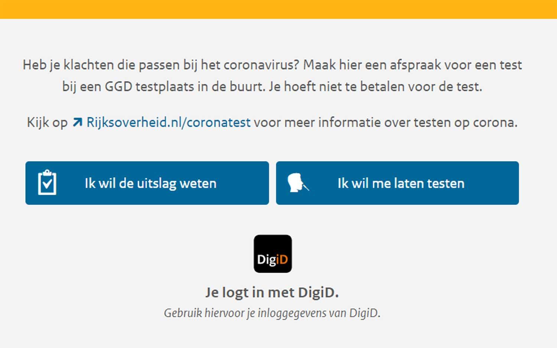 online-afspraak-coronatest