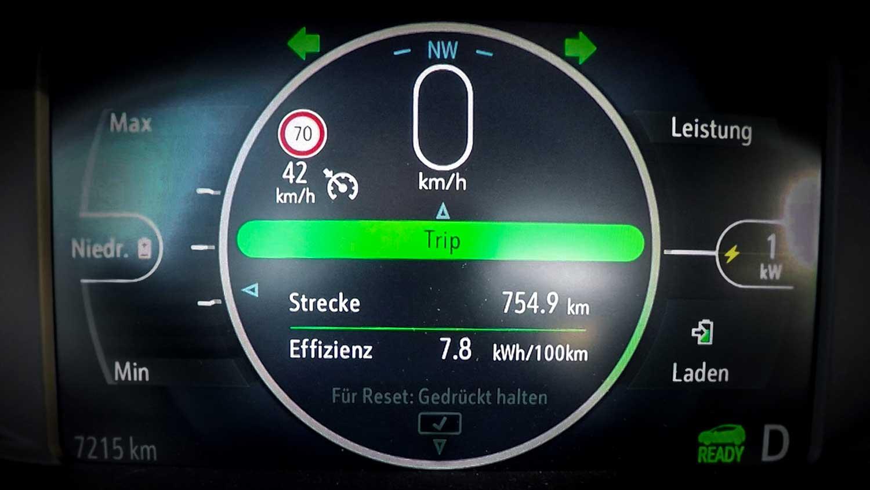 Op één batterijlading dik 750 kilometer, Opel Ampera-e flikt het