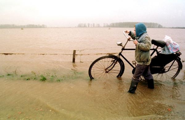 Foto van overstroming   FBF