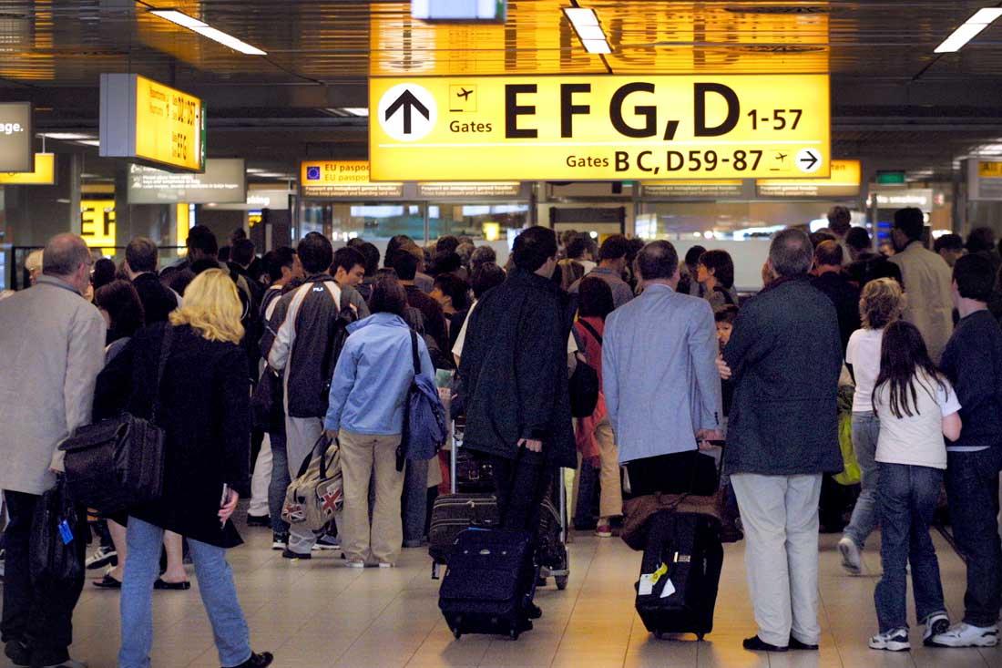 Schiphol-paspoort-controles