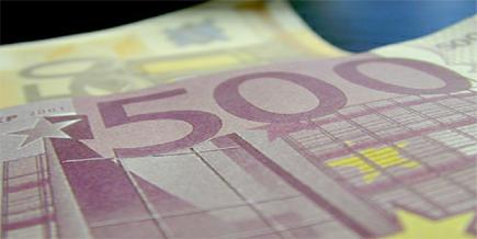 Foto van geld bankbiljetten euro | Archief EHF