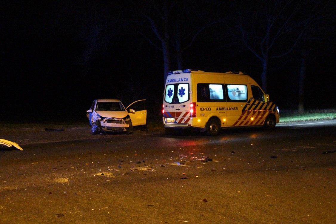 aanrijding in Schoonebeek