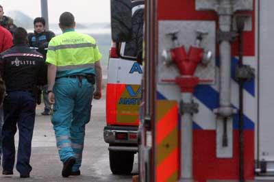 Foto van brandweer politie ambulance | Archief EHF